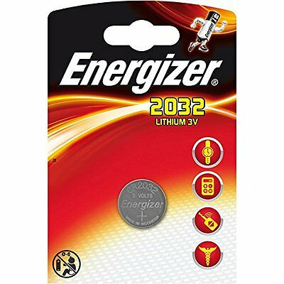 4 x Energizer Batterie CR2032 Lithium 3V Knopfbatterie CR 2032 Battery NEW