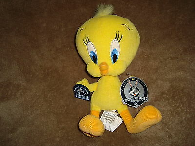"Tweety W/ Corduroy Feet 2000 Applause Classic Collection Looney Tunes 8"" Plush"
