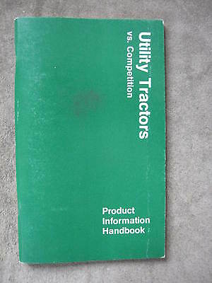 John Deere 2040 2240 2440 2640 2940 Tractor Product Information Manual Handbook