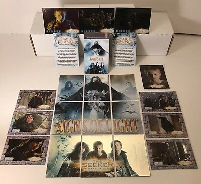 THE SEEKER (2007) Complete Card Set + CHASE S1-S9, E1-E6, H1-H3, CL1, Pi & PFW