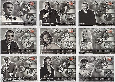 James Bond 2003 Rittenhouse Archives Goldfinger Commemorative 9 Card Set