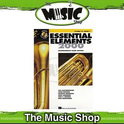 New Essential Elements for Band: Bb Tuba T.C. Book 1 & OLA - Band Method