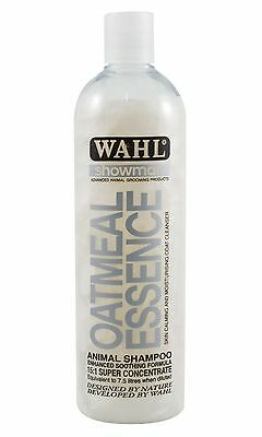 Wahl Showman Oatmeal Essence Shampoo for Dogs, Cats & Horses 500ml