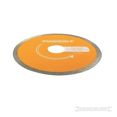 TILE CUTTING DIAMOND DISC - 115 x 22.2mm CONTINUOUS RIM BLADE (868730)