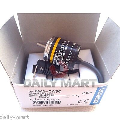 OMRON Incremental Rotary Encoder E6A2-CW5C 200P/R 12-24VDC New in Box free Ship