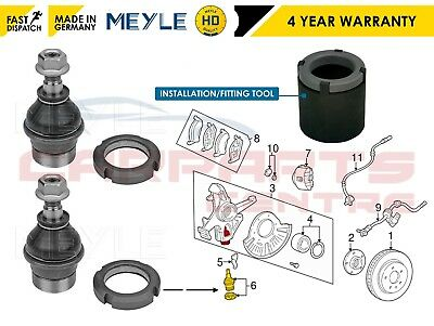 For Mercedes Ml270 320 350 430 Front Lower Ball Joints Meyle & Installation Tool