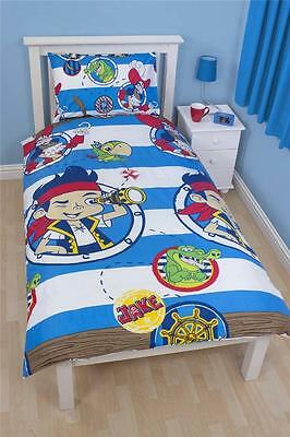 Disney Jake and The Never Land Pirates Doubloons Single Rotary Duvet Reversible