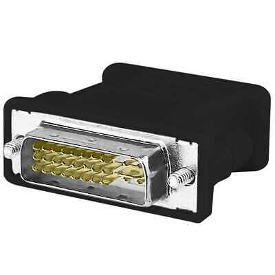 Adattatore DVI-I 24+5 Pin VGA Adapter Monitor Video Digitale Analogico DUAL Link