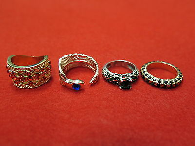 Harry Potter House Rings! Slytherin/Gryffindor/Ravenclaw & Hufflepuff!