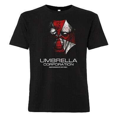 Umbrella Corporation T-Shirt Resident Evil Zombie Retribution Horror Kult