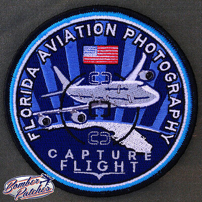 Florida Aviation Photography Official Patch, Miami International Airport, 747