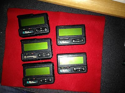 Motorola ADVISOR Pager USED 5 units