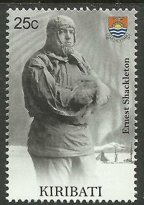 KIRIBATI 2009 SEAFARING ERNEST SHACKLETON Antarctic Explorer Single Stamp MNH