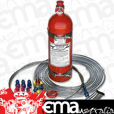 Stroud Safety 10Lb Fe-36 Fire Suppression System With 6Ft Cable Ss9352