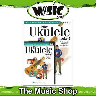 New Play Ukulele Today Level 1 Beginner's Pack including Book 1, CD & DVD