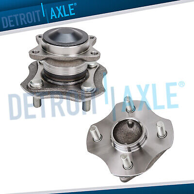 Set (2) New REAR Complete Wheel Hub & Bearing Assembly for Toyota Echo - No ABS