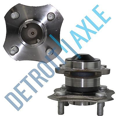 for 2000-2002 2003 2004 2005 Toyota Echo REAR Wheel Bearing & Hub Pair - No ABS