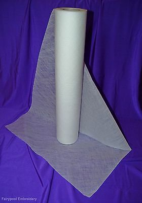 Solvy Fabric 3mtr x 50cm Water Soluble Embroidery Stabiliser folded & sent flat