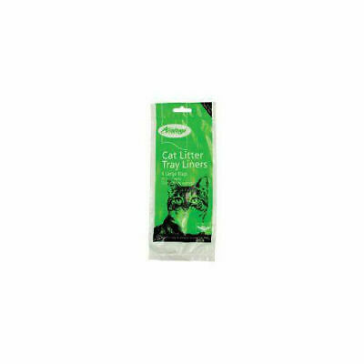 Armitage Cat Litter Liners Large Green x 12 - Accessories - Cat - Litter Trays