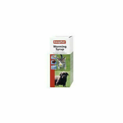 Beaphar Dog & Cat Worming Syrup 45ml x 6 - Health & Hygiene - Dog & Cat - Wormer