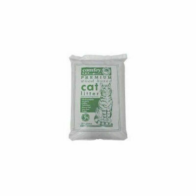Comfey Cat Litter Woodbase 30ltr Litters - Cat - Litters