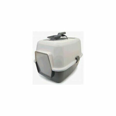 Enclosed Cat Loo With Door And Scoop Accessories - Cat - Litter Trays
