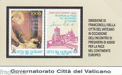 Vaticano Phone Card 1995 - Assisi Per La Pace - L. 10.000