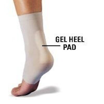 SILIPOS Gel Achilles Heel Pads Protection Sleeve S/M or L/XL 10385 / 10395 NEW!