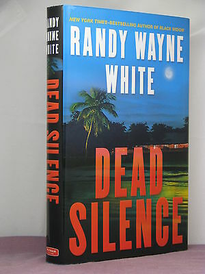 1st, signed by the author, Dead Silence by Randy Wayne White (2009)