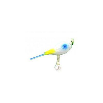 Parakeet On Spring Accessories - Bird - Toys Acrylic & Plastic
