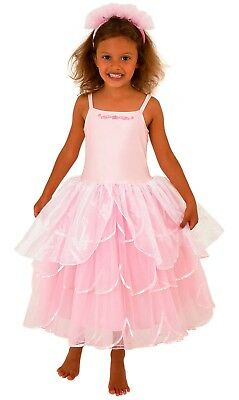 SALE SECONDS QUALITY BELLA PRINCESS DRESS  BY FRILLY LILY 2-4//4-6//6-8//8-10YEARS