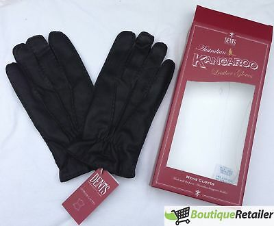 Dents Kangaroo Leather Gloves Cashmere Wool Lined Warm New Mens Winter ML0062