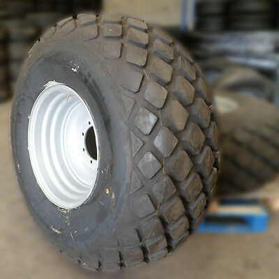 "2x Slurry Tanker Wheels 23.1x26"" Rims & Tyres *REDUCED TO CLEAR*"