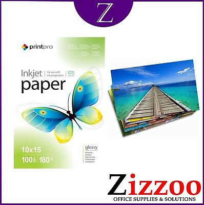 6X4 Glossy Photo Paper 180Gsm In A Pack Of 100