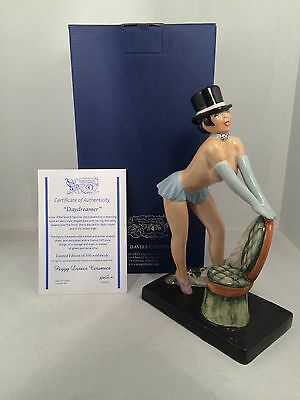 Kevin Francis Peggy Davies Follie Bergere 24cm Tall Limited Edition 150 COA