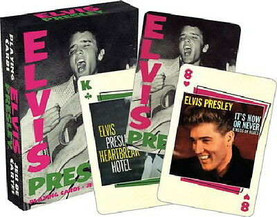 Elvis Presley Record Album and Single Covers Playing Cards NEW SEALED