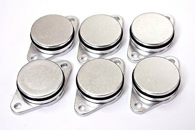 6 x BMW SWIRL FLAP BLANKING REPLAMENT BUNGS 32MM 320 330 520 530 525 535 730D