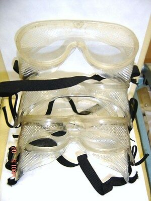 5 Pairs Navy issue Lab safety Goggles