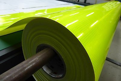 3M Fluro Yellow Green (4083) Diamond Grade Reflective Sheet 1219mm x 45m