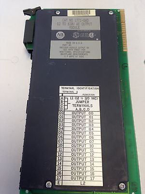 NEW OLD A-B Allen Bradley Cat # 1771-OAD AC Output Module Ser12 TO 120V . B DC