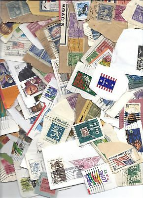 US Stamp Lot Used on Paper Mixture - 1 lb pound Kiloware - Too many to count!*