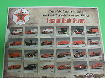 Wings Of Texaco Airplane Series Adv. Truck Collector