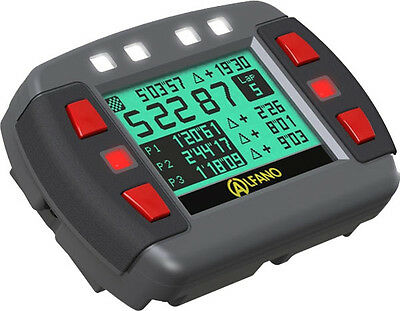 Alfano Ads Gps Lap Timer Gauge A1001 - For Cars Motorcycle Karting