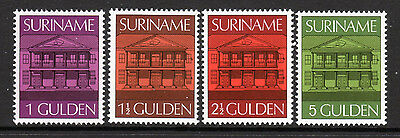 Surinam SC# 436-9, MNH, (4 of 5)stamp Central Bank Set  Issued in 1975-6/