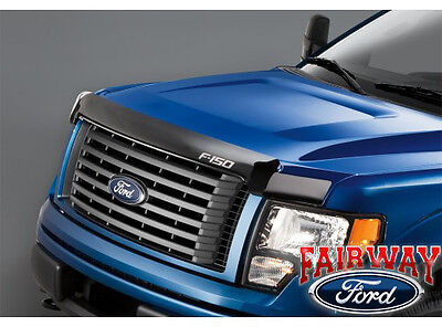 NEW OEM GENUINE FORD 17-19 SUPERDUTY CHROME HOOD DEFLECTOR VJC3Z16C900A