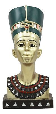 Ancient Egyptian Civilization Queen Nefertiti Figurine Bust Statue Collection