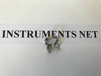 6 ENDODONTIC RUBBER DAM CLAMP #2A  Dental Instrument (Pre Molars)