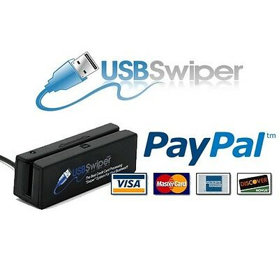 USB credit card reader - 3 tracks