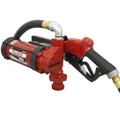 Tuthill Fill Rite FR3204 12 V DC High Flow 25 GPM Fuel Transfer Pump Only