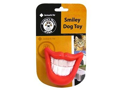 24 x Pet Puppy Dog Cat Squeaky Toys Cheezy Smile - NEW Bulk Wholesale Lot x24